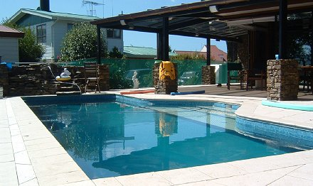Classic and rectangular swimming pools pleasure pools - Swimming pool maintenance auckland ...