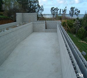 Fully tiled concrete pool
