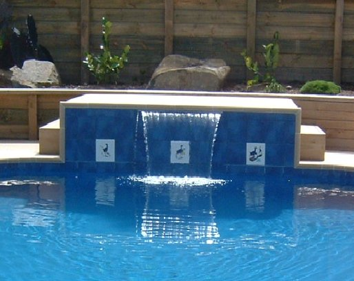 Tiled Water Feature